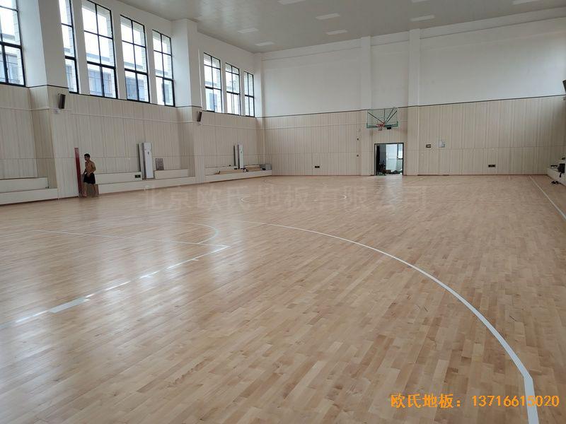 江西吉水县城南第二小学运动地板铺设案例