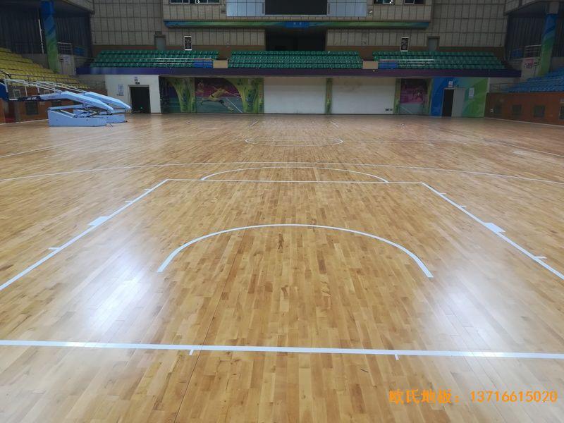 赣州体育馆运动地板铺装案例