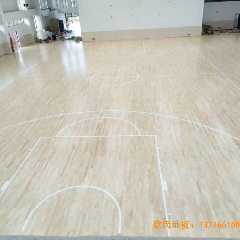 赣州宁都县城关小学九章路校区体育地板铺装案例