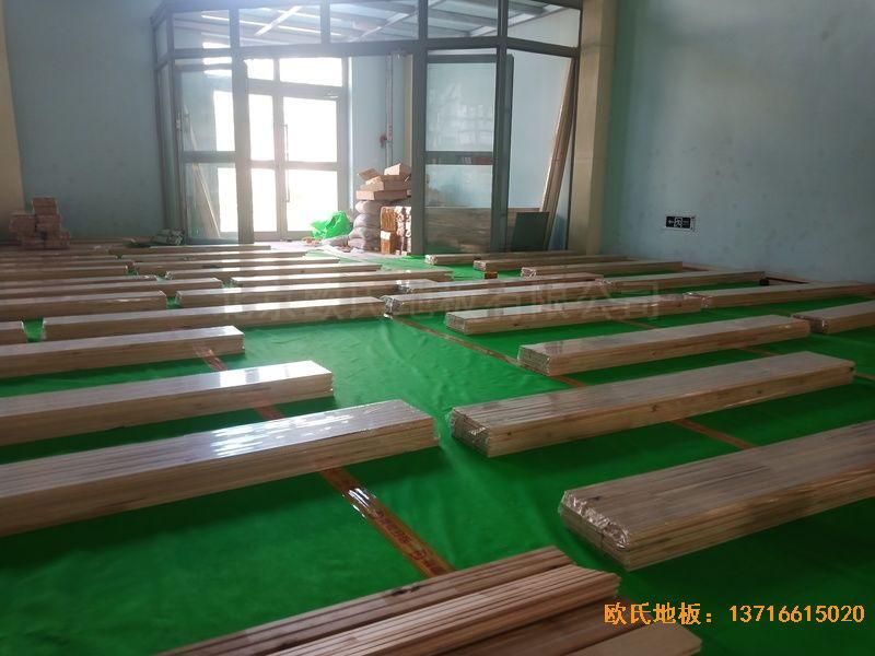 青海西宁市城西区新宁路18号中国科学院运动地板铺装案例