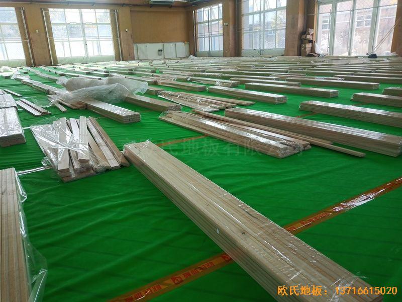 北京大兴区团河路98号运动地板铺装案例