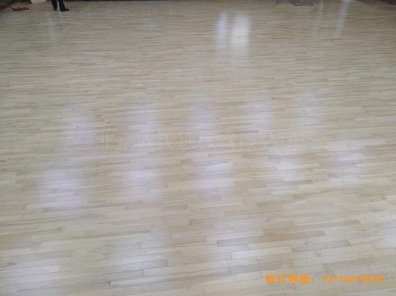 北京舞蹈学院体育地板安装案例3