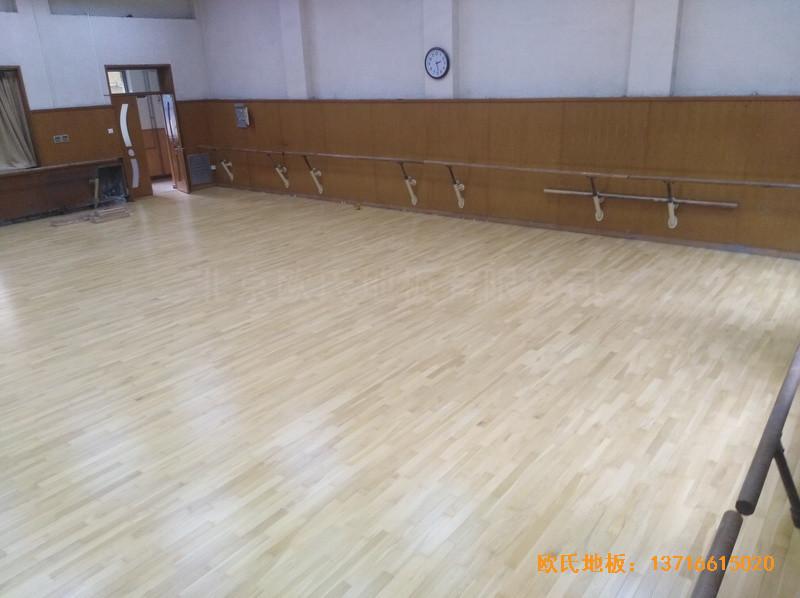 北京舞蹈学院体育地板安装案例4