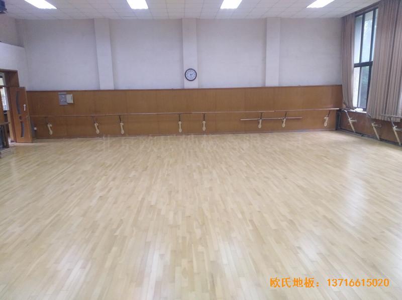 北京舞蹈学院体育地板安装案例5