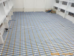 上海宝山区技术学院运动木地板施工案例