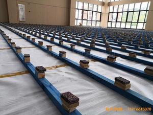 广州永顺大道铁英中学体育地板施工案例