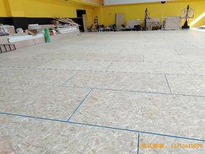 江苏扬州海兰德琼花篮球馆体育地板铺设案例