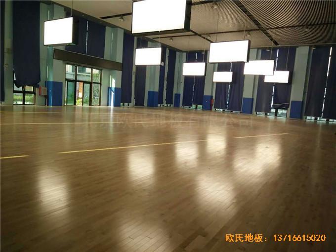 广东珠海市中航花园羽毛球馆运动地板铺装案例