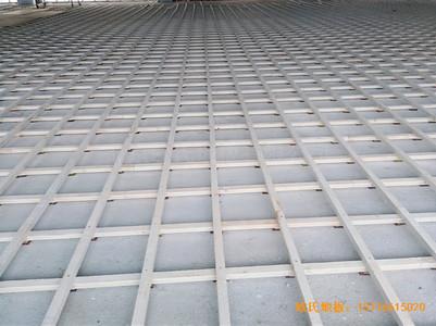 新疆独山子老年活动中心运动地板安装案例