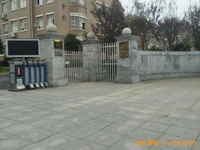 九江德安县第三小学运动馆体育木地板安装案例