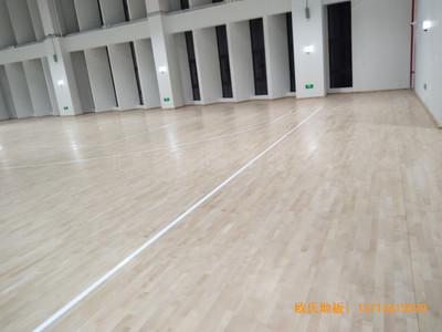 浙江宁波象山分校篮球馆运动地板铺装案例