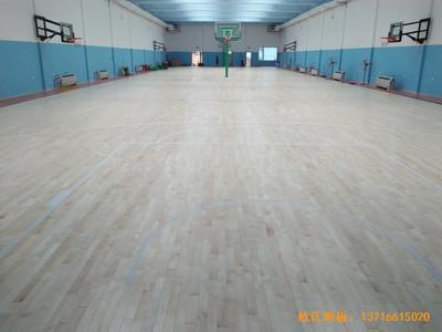 北京昌平体育健身俱乐部体育地板铺设案例