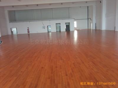 南京浦口区复兴小学运动馆体育地板铺设案例