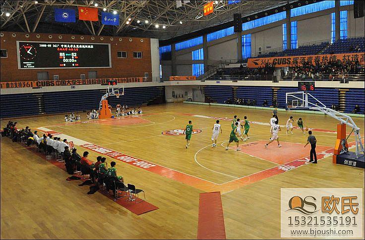 篮球地板选择实木篮球地板