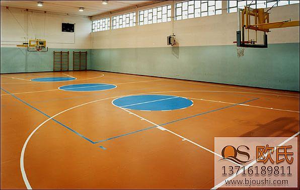 篮球运动地板如何做到超静音