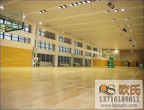 双层结构体育馆用运动木地板