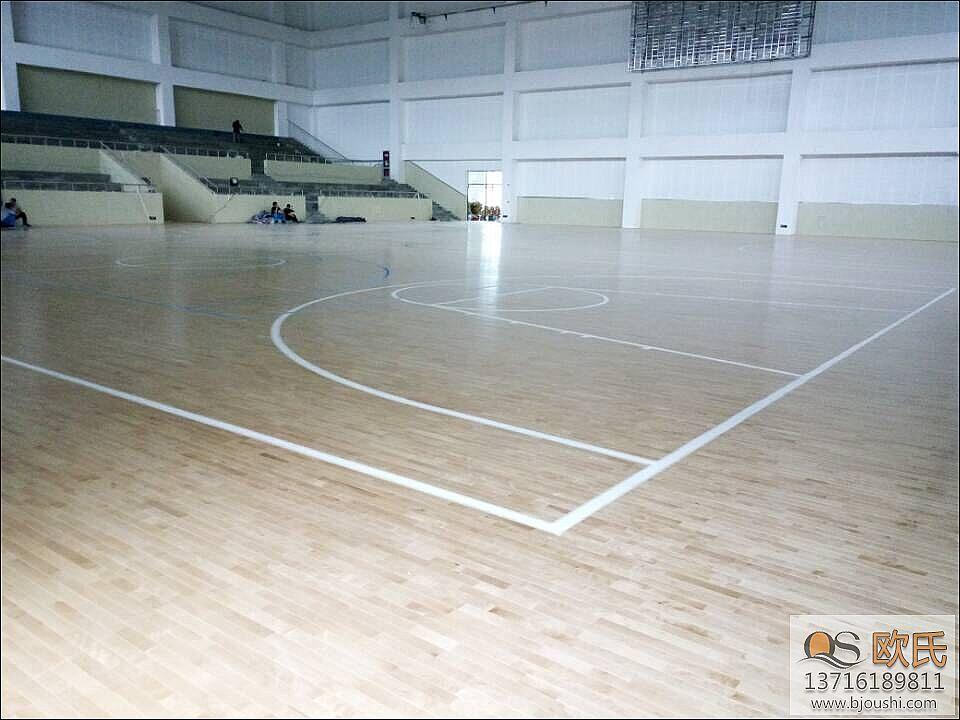 专业羽毛球场地木地板的构造介绍